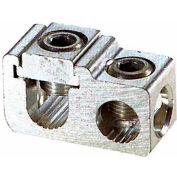 Morris Products 91018, Aluminum Parallel & Tee Tap Connectors Main: 250-1/0 Tap: 250-#6