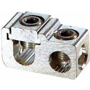 Morris Products 91023, Aluminum Parallel & Tee Tap Connectors Main: 750-500 Tap: 500-#2