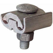 Morris Products 96024, Aluminum Parallel Groove Clamps 1 Bolt 1/0-397.5 To #6-2/0