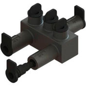Morris Products 98052 Submersible Insul. Streetlighting Connectors Multi-Port Offset #14-2/0 3 Port