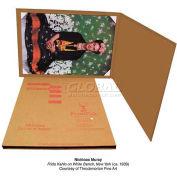 "Masterpak Printpak Art Shipping Box Unlined, 2217, 21""L x 16""W x 1/8""D Inner Pak 350 Lb DW"