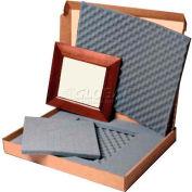 """Masterpak Art Shipping Box, Unlined, 4343-4, 40""""L x 40""""W x 3""""D Max Frame, 350 Lb DW"""