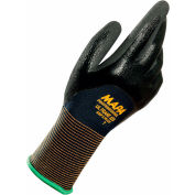 MAPA® Ultrane 525 Grip & Proof Nitrile 3/4 Coated Gloves, Lt Weight, 1 Pair, Size 11, 5254101