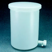 Thermo Scientific Nalgene™ Heavy-Duty Cylindrical Tank with Spigot, LLDPE, 30 Gallon