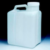 Thermo Scientific Nalgene™ Heavy-Duty Wide-Mouth HDPE Jugs with Closure, 20 Liter, Case of 4
