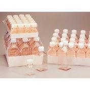 Thermo Scientific Nalgene™ Square PETG Media Bottles, Sterile, Tray Pack, 30mL, Case of 280