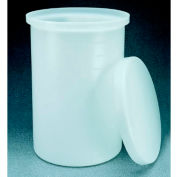 Thermo Scientific Nalgene™ Lightweight Graduated Cylindrical Tank with Cover, 30 Gallon