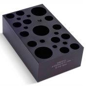 Thermo Scientific Block Heater, 3 x 25 mm + 12 x 13 mm + 6 x 6 mm Dia. Tubes