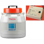 Thermo Scientific Locator Jr. Cryogenic Rack and Box System with Level Monitor, 60 Liters