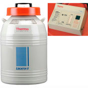 Thermo Scientific Locator 8 Cryogenic Rack and Box System with Level Monitor, 111 Liters