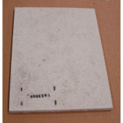 """Thermo Scientific Hearth Tray for F48000 Muffle Furnaces, 10""""W x 7.6""""D x 0.38""""H"""