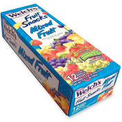 Welch's Fruit Snack, Mixed Fruit, 0.9 oz., 12/Box
