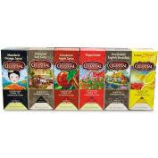 Celestial Seasonings 100% Natural Teas, Assorted, Single Cup Bags, 25/Box