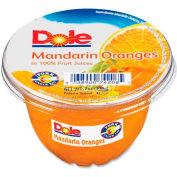 Dole Fruit Cups, Mandarin Orange, 7 Oz, 12/Carton