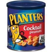 Planters Cocktail Peanuts, Sea Salt, 16 Oz, 12/Box