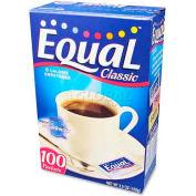 Equal Sugar Substitute, Classic, 1 G, 100/Box