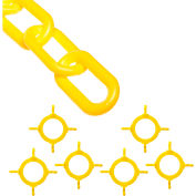 Mr. Chain 97402-KIT Cone Chain Connector Kit, Yellow