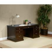 "Martin Furniture 68"" Double Pedestal Executive Desk - Fulton Office Series"