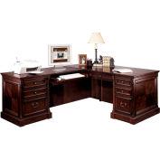 Martin Furniture Left L-Shaped Desk - Mount View Office Series