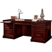 Martin Furniture Double Pedestal Executive Desk - Mount View Office Series