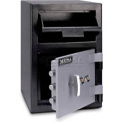 "Mesa Safe B-Rate Depository Safe MFL2014K Front Loading, Dual Key Lock, 14""W x 14""D x 20-1/4""H"