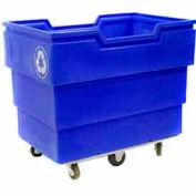 Bulk Recycling Truck - Blue