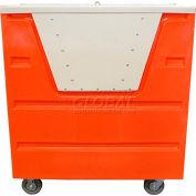 MODRoto Brilliant Orange Hopper Front Security 70P Poly-Trux® 36 Cu. Ft.