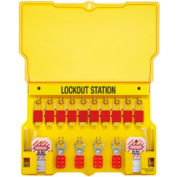 Safety Series™ Lockout Stations, Master Lock® 1483BP1106