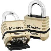 Master Lock® Proseries Bottom Resettable Combination Padlocks - No. 1175 - Pkg Qty 24