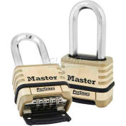 Master Lock® No. 1175LH Proseries Bottom Resettable Combination Padlocks - Pkg Qty 24
