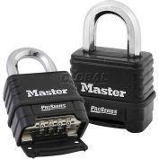 Master Lock® No. 1178 Proseries Bottom Resettable Combination Padlocks - Pkg Qty 24