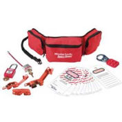 Master Lock® Personal Lockout Pouch Kit, Electrical