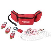 Master Lock® Personal Lockout Pouch Kit - Pkg Qty 2