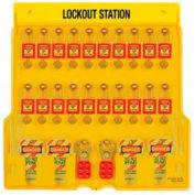 Master Lock® Zenex Padlock Station, 20 Lock