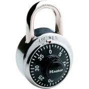 Master Lock® Non-Resettable Combination Padlocks - No. 1500ka - Pkg Qty 72