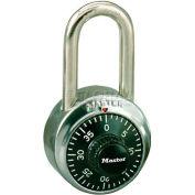 Master Lock® Non-Resettable Combination Padlocks - No. 1500kalf - Pkg Qty 36