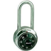 Master Lock® Non-Resettable Combination Padlocks - No. 1500lh - Pkg Qty 36