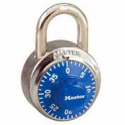 Master Lock® No. 1502BLU General Security Combo Padlock - Blue Dial