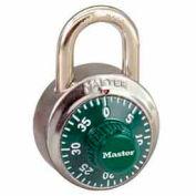 Master Lock® General Security Combo Padlock, Green Dial