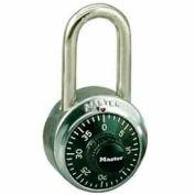 Master Lock® General Security Combo Padlock LF Shackle, Black Dial