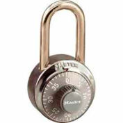Master Lock® General Security Combo Padlock LF Shackle, Grey Dial