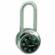 Master Lock® General Security Combo Padlock LH Shackle, Black Dial