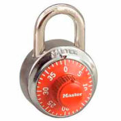 Master Lock® General Security Combo Padlock, Orange Dial