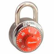 Master Lock® No. 1502ORJ General Security Combo Padlock - Orange Dial
