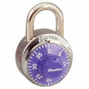 Master Lock® No. 1502PRP General Security Combo Padlock - Purple Dial