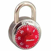Master Lock® No. 1502RED General Security Combo Padlock - Red Dial