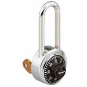 Master Lock® General Security Combo Padlock, Key Control, Black