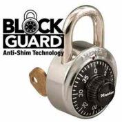 Master Lock® No. 1525 1525 General Security Combo Padlock, Key Control, Black Dial