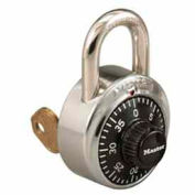 Master Lock® General Security Simple Combination ADA Inspired Padlock, Silver