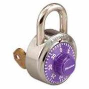 Master Lock® General Security Combination Padlock, Purple